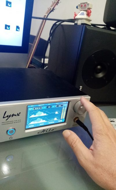 Lynx Hilo Reference converter system used for mastering.